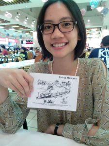 Cherika dan kartu pos Sawahlunto :D