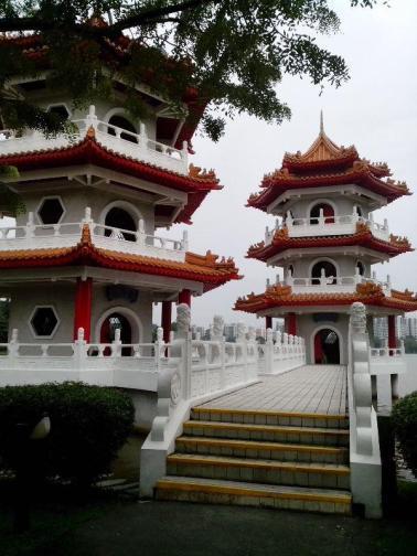 The Twin Pagoda