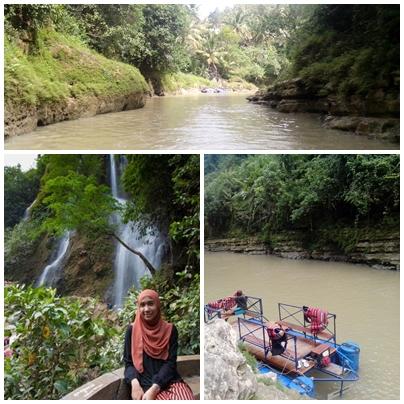 Air terjun dan sungai