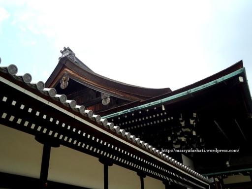 Salah satu detail atap.