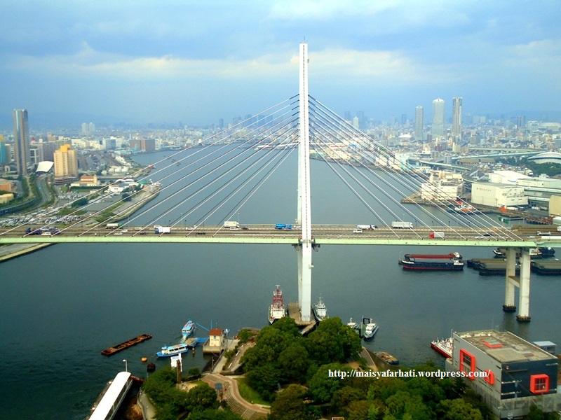 Osaka from above