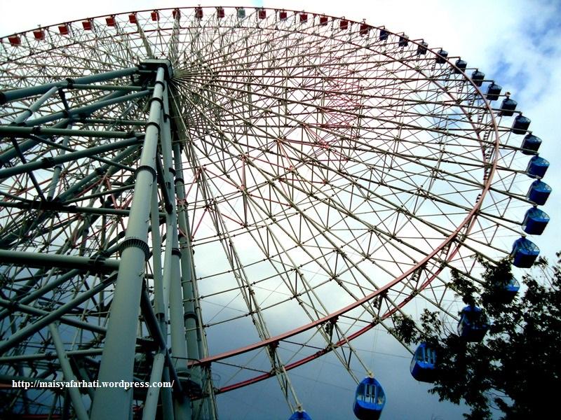 Penampakan Tempozan Ferris Wheel