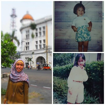 Kali ini dikasih bonus foto deh haha.. *penting* Dari kanan atas: 1989 - 1993 - 2012