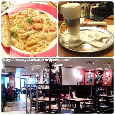 Lunch at TGIF