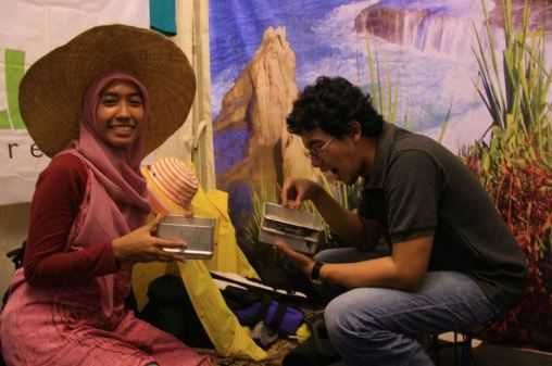 Foto saat di Social Media Festival 2012 (Jakarta, Oktober 2012)