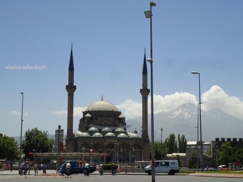 Salah satu masjid di pusat kota Kayseri