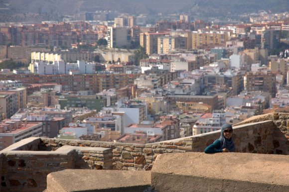 Me in Malaga, Spain