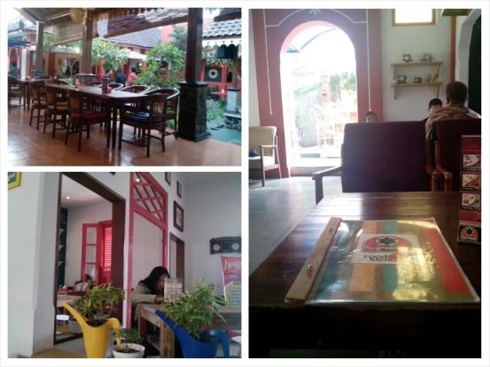 Suasana di Kafe Kongkalikong, Jalan Taman Siswa, Yogyakarta