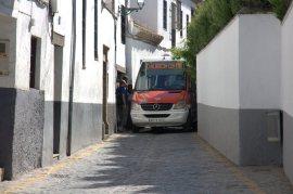Jalan sempit di kawasan Albaicin (foto: Chendra)