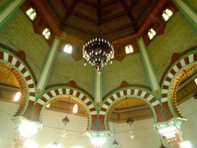 Interior Masjid Raya Medan
