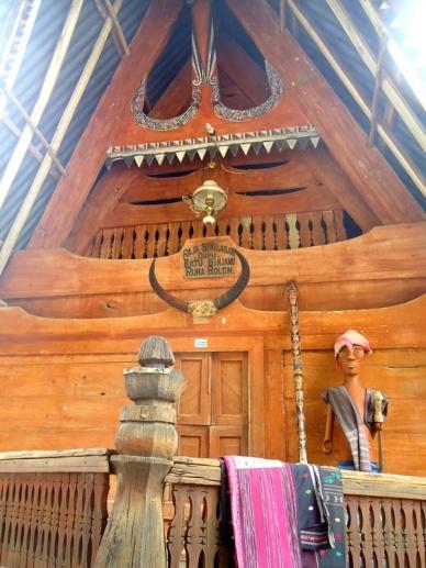 Rumah batak, Pulau Samosir
