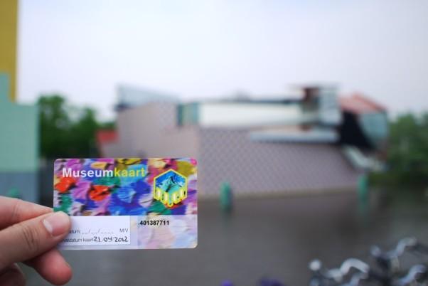 Museumkaart dan Groninger Museum, Groningen (foto: Foto: http://blog.n8.nl/)