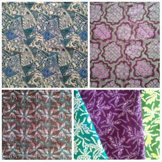 Aneka batik kombinasi
