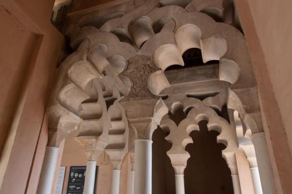 Interior Alcazaba of Malaga