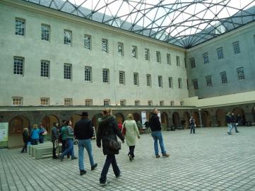 Ruang tengah gedung museum