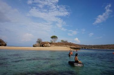 Snorkeling di Gili Petelu (foto: Lutfi)