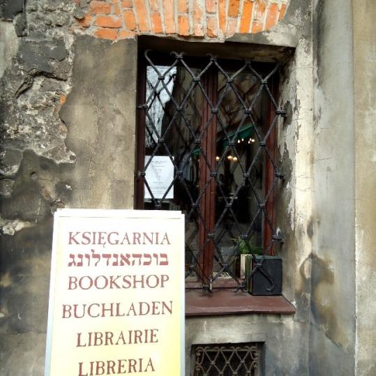 Toko buku di Jewish Quarter
