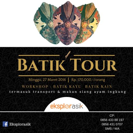 E-poster Batik Tour