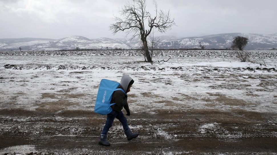 pengungsi suriah di Serbia 2
