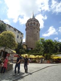 Menuju Galata Tower
